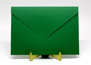 Envelope Convite Verde 10 Unidades