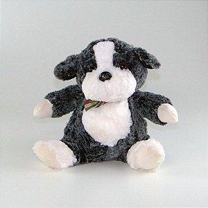 Cachorro de Pelúcia Sentado Fofy
