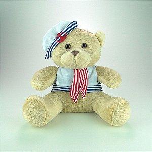 Urso De Pelúcia Marinheiro Médio