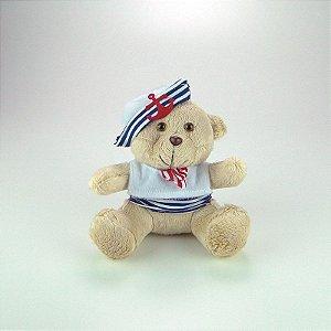 Urso De Pelúcia Marinheiro Mini