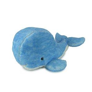 Baleia de pelúcia Azul Média