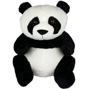 Urso Panda De Pelúcia - 45cm
