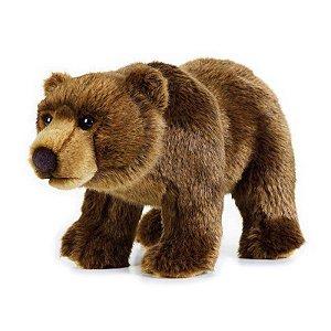 Urso Pardo de Pelúcia Nat Geo