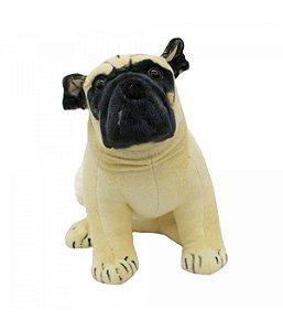 Cachorro de Pelúcia Pug Grande