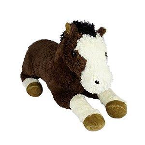 Cavalo de Pelúcia Malhado Fofy