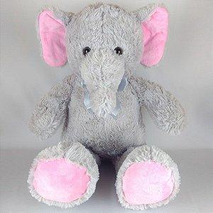 Elefante de Pelúcia 80cm Fizzy