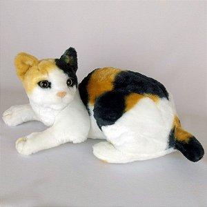 Gato de Pelúcia Realista Bobtail Japônes