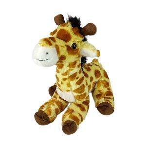 Girafa de Pelúcia Safari Sentada