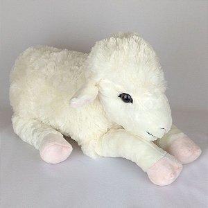 Ovelha - Cordeiro De Pelúcia Filhote G