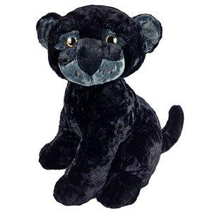 Pantera Negra de Pelúcia Filhote G