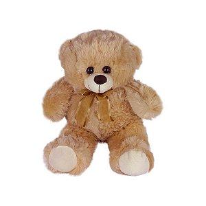 Urso De Pelúcia 36cm Bege