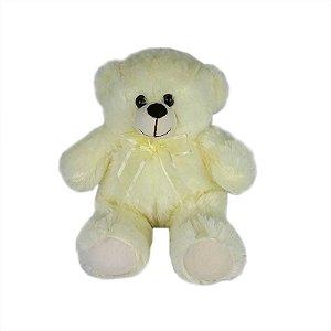 Urso De Pelúcia 36cm Creme