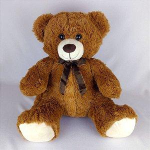 Urso De Pelúcia 46cm Marrom