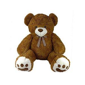 Urso De Pelúcia Grande 70cm Marrom