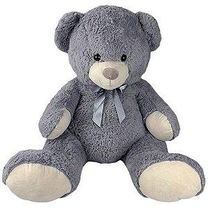 Urso De Pelúcia Gigante Cinza