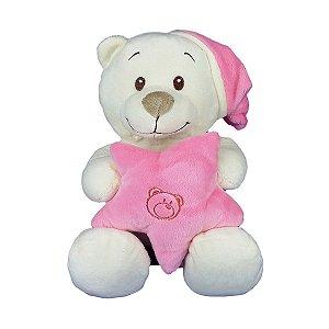 Urso De Pelúcia Soneca - Dorminhoco Rosa