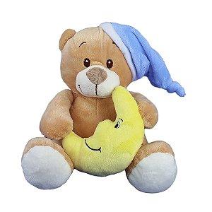 Urso De Pelúcia Soneca - Dorminhoco Azul