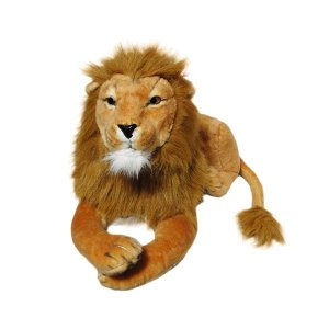 Leão de pelúcia  65cm