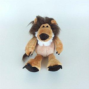 Leão de Pelúcia Safari - 20cm