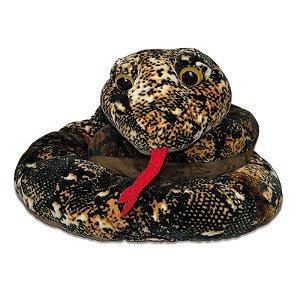 Cobra de Pelúcia Marrom