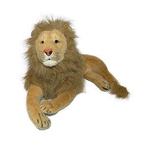 Leão de pelúcia  70cm