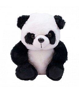 Urso Panda De Pelúcia - 22cm Fofy