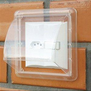 Protetor para Tomadas e Interruptores Externo Dryplug Duplo