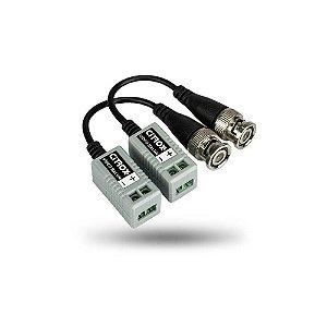 Conector Balun Passivo CFTV Para Câmera CX-4612 Citrox