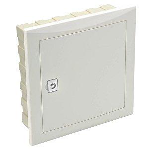 Caixa de Passagem Cemar PVC Embutir TLBE 30x30x9cm Legrand 910402