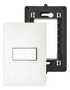 Interruptor Pulsador Pial Plus+ Legrand Com Suporte e Placa 4x2
