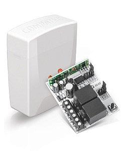 Receptor REC MP 300 P/Alarme/Portão Eletrônico 2 Canais Compatec