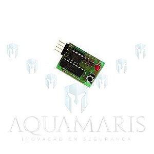 Placa expansora de memória Rossi para controles de central MX