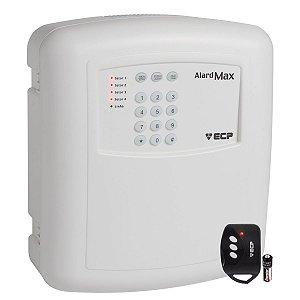Alarme Residencial 4 Setores com Discadora Com 1 Controle 433MHz Alard Max 4 ECP