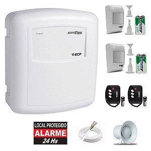 Kit Alarme Residencial Sem Fio Ecp 2 Sensores Presença Flex1