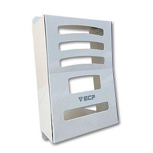 Protetor Para Interfone ECP Intervox Aço Branco