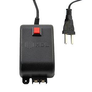 Fonte 12V HDL TRA-400 com Botão para Acionamento de Fechadura Elétrica