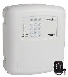 Central Alarme Residencial Discadora 10 Setores Alard Max 10 + 1 Controle Remoto