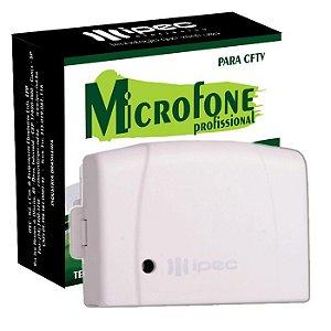 Microfone Para CFTV Câmeras IPEC A2909 Profissional