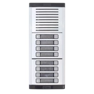 Porteiro Eletrônico Coletivo HDL Com 16 Botões Predial MPS-16