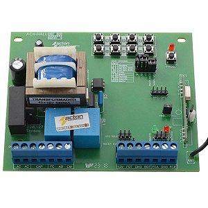 Placa Central Portão Eletrônico Acton AC4 Sensor Hall Compatível Rossi (512 controles)