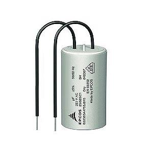 Capacitor Para Motor de Portão Eletrônico 220V 12uF