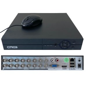 DVR 16 Canais Full HD 1080p Detecção Facial Intrusão CX-2716 Citrox