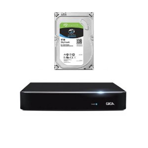 DVR Giga 5MP 8 Canais Orion GS0191 Com HD 1TB Seagate Skyhawk