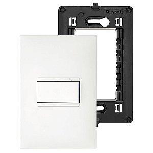 Interruptor Simples 1 Tecla Pial Plus Legrand Suporte 4x2 e Placa