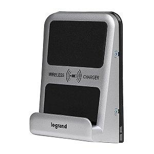 Carregador Sem Fio Por Indução Universal Qi IP66 IK08 Legrand