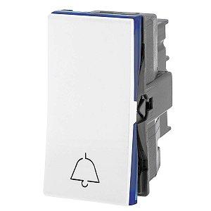 Interruptor de Campainha Pulsador Branco Pial Plus+ Legrand 611012BC