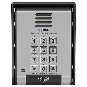 Interfone Coletivo HDL F-20 ID Tag Senha Bluetooth 90.02.15.001
