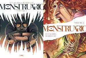 PRÉ-VENDA - Monstruário - volumes 1 e 2