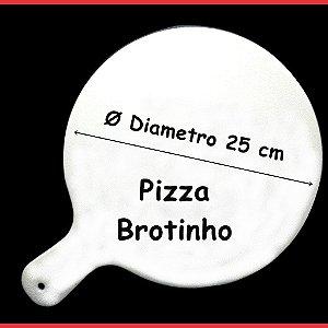 Pá De Pizza Em Polietileno 25cm - Brotinho