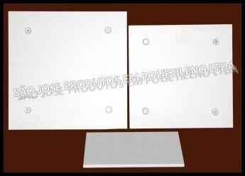 Tabuleiro base quadrado 50x50cm